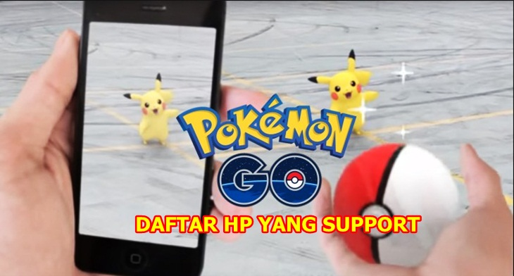 Hp yang support pokemon go