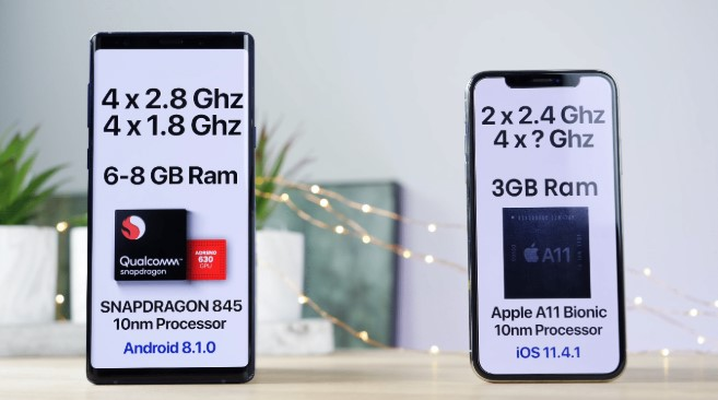 Spesifikasi iPhone X vs Samsung Galaxy Note9